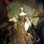 <b>ТОКЕ ЛУИ Мария Лещинска, королева Франции, жена Людовика XV, 1740</b>