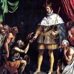 <b>ТРИСТАН ЛУИС Святой Людовик, король Франции, раздающий милостыню</b>