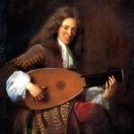 <b>ТРУА ФРАНСУА ДЕ Шарль Мутон, играющий на лютне, 1690</b>