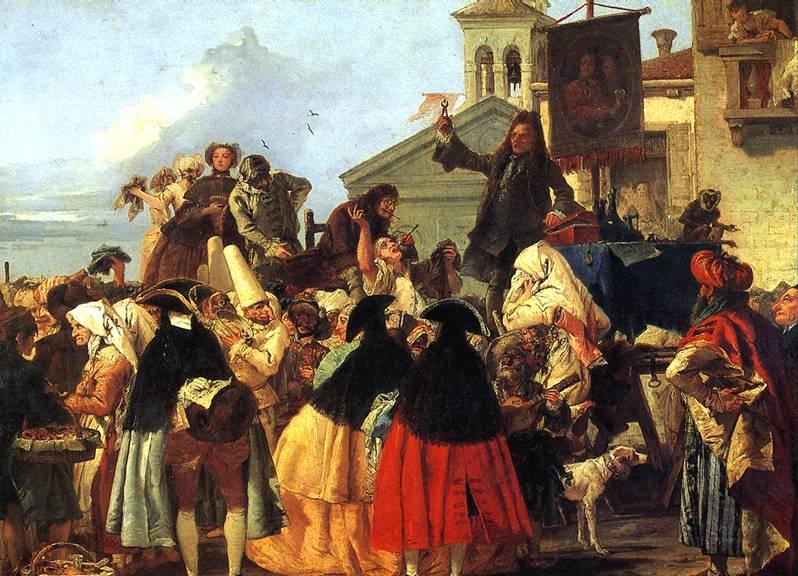 ТЬЕПОЛО ДЖОВАННИ ДОМЕНИКО Зубодер, 1754