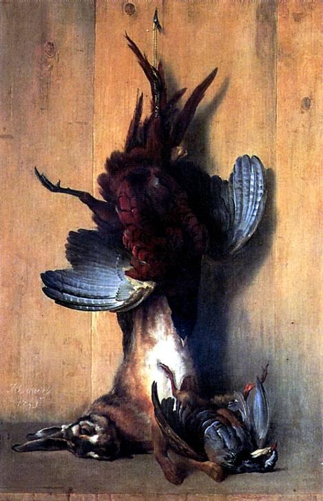 УДРИ ЖАН БАТИСТ Натюрморт с фазаном, 1753