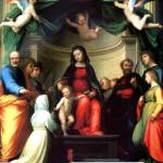<b>ФРА БАРТОЛОМЕО Мистическое обручение св. Екатерины Сиенской в присутствии святых...</b>