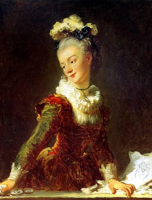 ФРАГОНАР ЖАН ОНОРЕ Танцовщица Мари Мадлен Гимар, ок. 1769