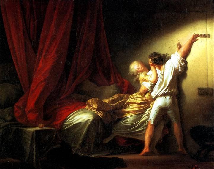 ФРАГОНАР ЖАН ОНОРЕ Щеколда, ок. 1778