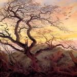 <b>ФРИДРИХ КАСПАР ДАВИД Дерево с воронами; могильный курган у Балтийского моря и ос...</b>