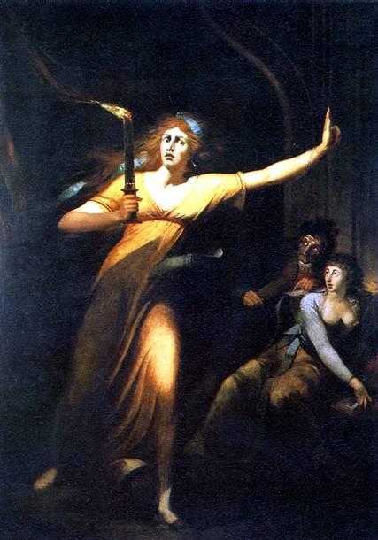 ФЮСЛИ ИОГАНН ГЕНРИХ Леди Макбет, 1784