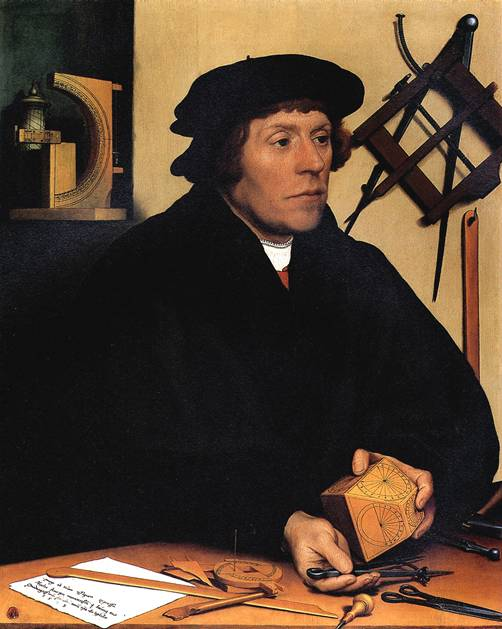 ХОЛЬБЕЙН МЛАДШИЙ Николас Кратцер, 1528