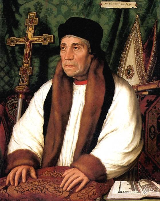 ХОЛЬБЕЙН МЛАДШИЙ Уильям Уорхэм, 1527