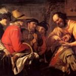 <b>ХОНТХОРСТ ГЕРРИТ ВАН Вырывание зуба, 1628</b>
