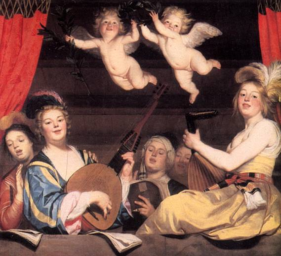 ХОНТХОРСТ ГЕРРИТ ВАН Концерт, 1624