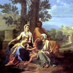 <b>ПУССЕН НИКОЛА Святое семейство в пейзаже</b>