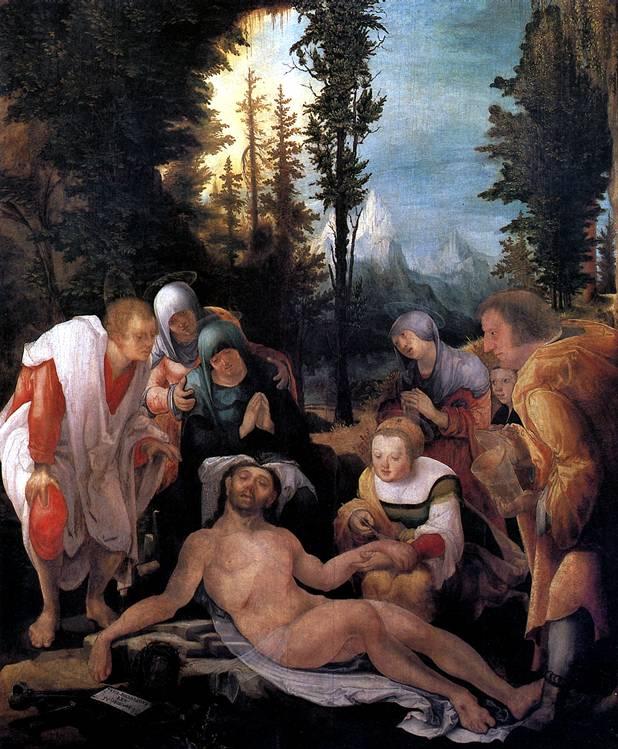 ХУБЕР ВОЛЬФ Оплакивание Христа, 1524