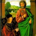 <b>ХЭЙ ЖАН Пьер II, герцог Бурбонский со святым патроном апостолом Петром</b>