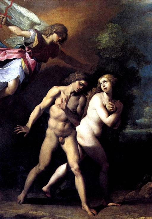 ЧЕЗАРИ ДЖУЗЕППЕ, ПРОЗВАННЫЙ КАВАЛЕР Д'АРПИНО Изгнание Адама и Евы из Рая