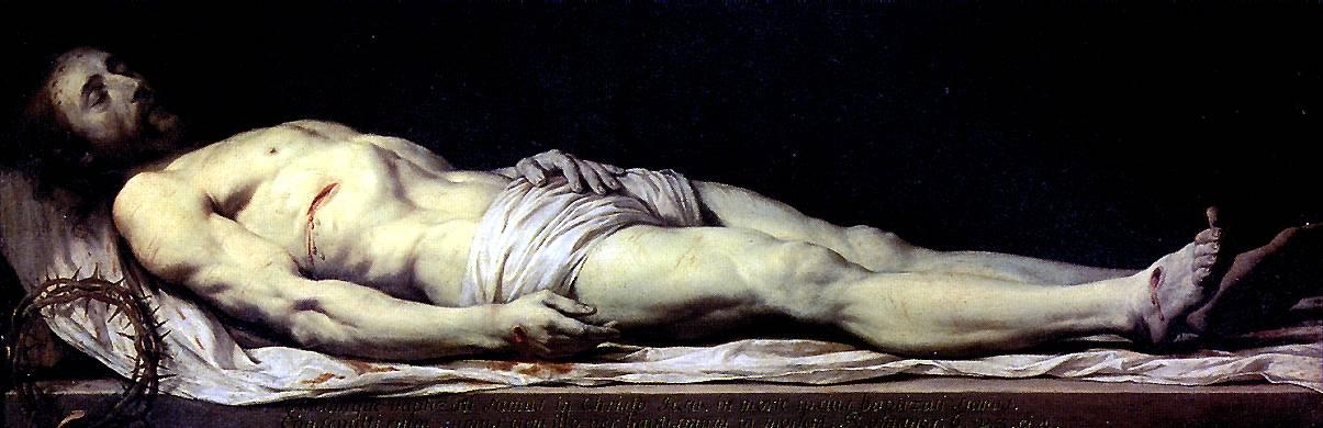 ШАМПЕНЬ ФИЛИПП ДЕ Мертвый Христос