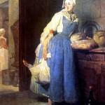 <b>ШАРДЕН ЖАН БАТИСТ СИМЕОН Разносчица (Возвращение с рынка), 1739</b>