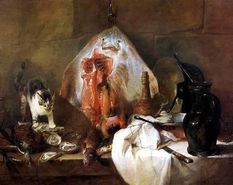 ШАРДЕН ЖАН БАТИСТ СИМЕОН Скат, 1728