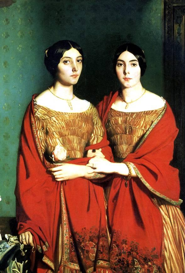 ШАССЕРИО ТЕОДОР Две сестры, 1843