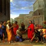 <b>ПУССЕН НИКОЛА Христос и грешница</b>