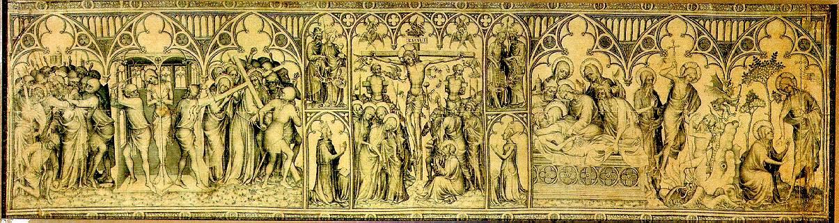 ЭДЕН ЖАКМАР ДЕ Несение креста (пергамент)