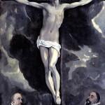 <b>ЭЛЬ ГРЕКО Христос на кресте и два донатора</b>