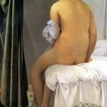 <b>ЭНГР ЖАН ОГЮСТ ДОМИНИК Купальщица Вальпинсона, 1808</b>