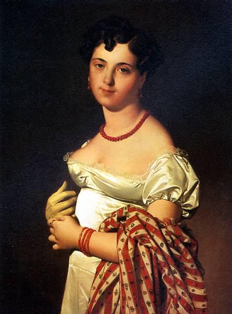 ЭНГР ЖАН ОГЮСТ ДОМИНИК Мадам Панкук, 1811