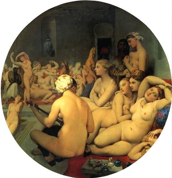 ЭНГР ЖАН ОГЮСТ ДОМИНИК Турецкая баня, 1862