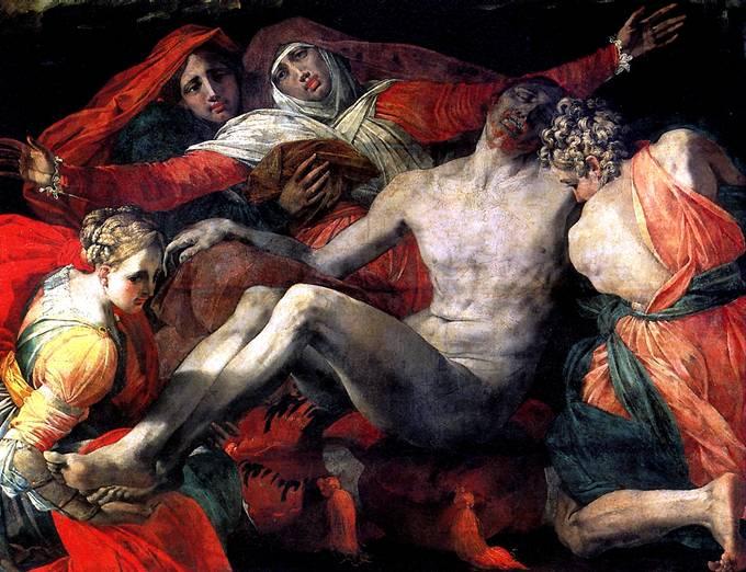 ЯКОПО ДЖОВАННИ БАТТИСТА ДИ, ПРОЗВАННЫЙ РОССО ФЬОРЕНТИНО Пьета, 1530-1535