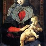 <b>ПЬЕРО ДИ КОЗИМО Мадонна с младенцем и с голубем</b>