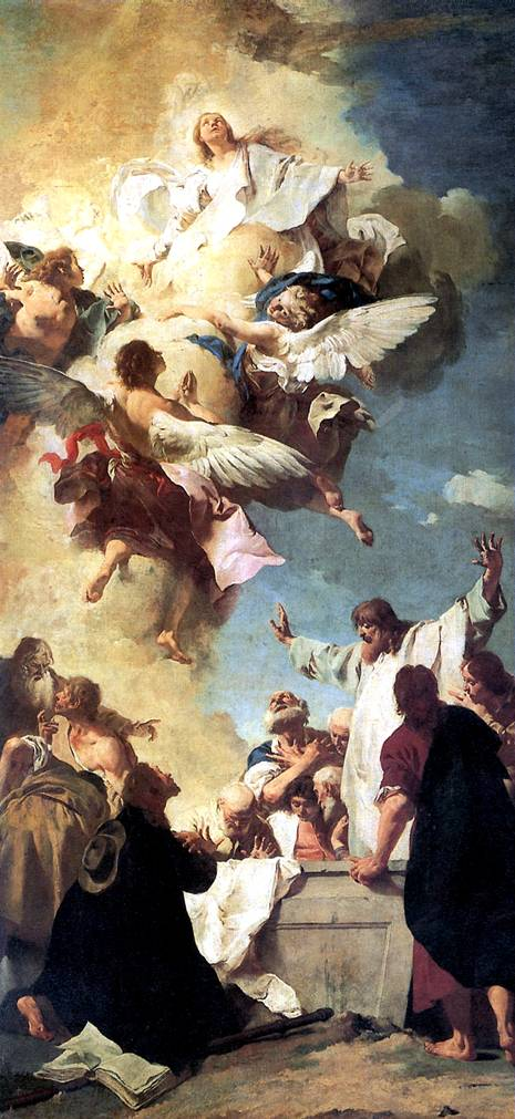ПЬЯЦЦЕТТА ДЖОВАННИ БАТТИСТА Вознесение Богоматери, 1735