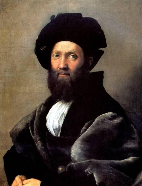 РАФАЭЛЬ CAHTИ, ПРОЗВАННЫЙ РАФАЭЛЬ Бальдассаре Кастильоне, до 1516