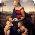 <b>РАФАЭЛЬ Прекрасная садовница (Мадонна с младенцем и св. Иоанном Крестителем в пе...</b>