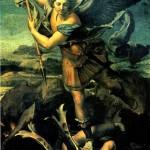 <b>РАФАЭЛЬ Св. архангел Михаил, 1518</b>