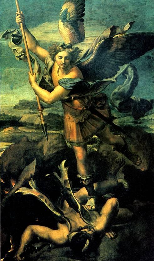 РАФАЭЛЬ Св. архангел Михаил, 1518