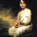 <b>РЕБЕРН Маленькая девочка с цветами</b>
