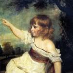 <b>РЕЙНОЛДС ДЖОШУА Портрет леди Джонс в детстве (Молодец, заяц!), ок. 1788/89</b>
