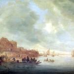<b>РЁЙСДАЛ САЛОМОН ВАН Паром, 1643</b>