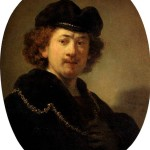 <b>РЕМБРАНДТ Автопортрет с золотой цепью, 1633</b>