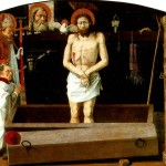 <b>ПРОВАНСАЛЬСКАЯ ШКОЛА Новозаветная Троица с мертвым Христом, со св. Агриколусом и...</b>