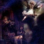 <b>РЕМБРАНДТ Ангел, покидающий семейство Товия, 1637</b>