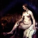 <b>РЕМБРАНДТ Вирсавия, 1654</b>
