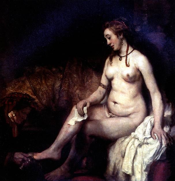 РЕМБРАНДТ Вирсавия, 1654