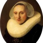 <b>РЕМБРАНДТ Корнелия Пронк, жена Альберта Купера, 1633</b>