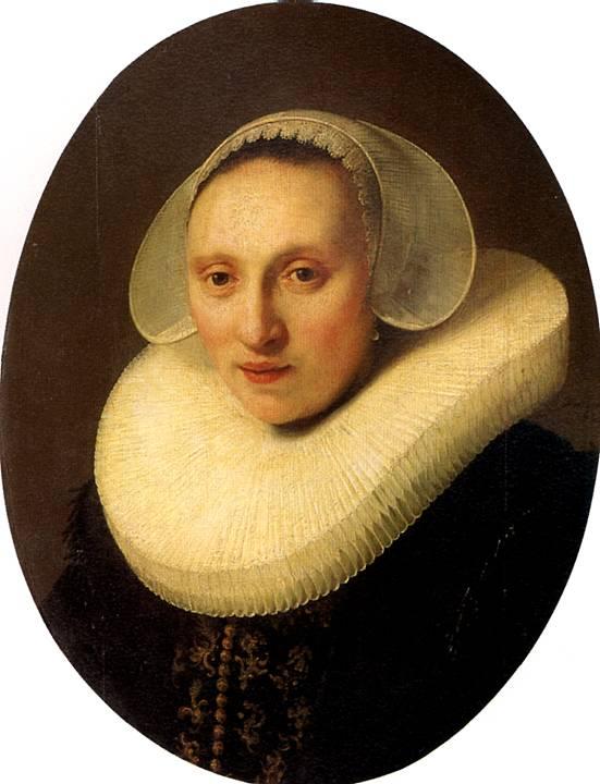РЕМБРАНДТ Корнелия Пронк, жена Альберта Купера, 1633