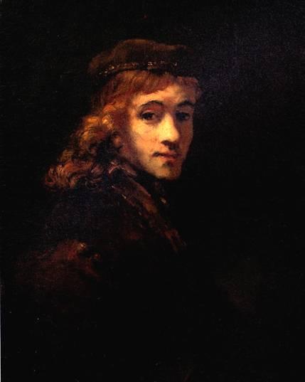 РЕМБРАНДТ Портрет Титуса, сына художника