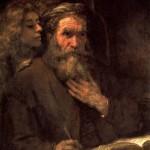<b>РЕМБРАНДТ Св. Матфей и ангел, 1661</b>
