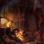 <b>РЕМБРАНДТ Святое семейство, 1640</b>