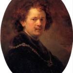 <b>РЕМБРАНДТ ХАРМЕНС ВАН РЕЙН Автопортрет без шляпы, 1633</b>