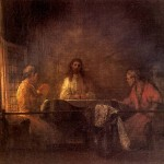 <b>РЕМБРАНДТ Христос в Эммаусе</b>